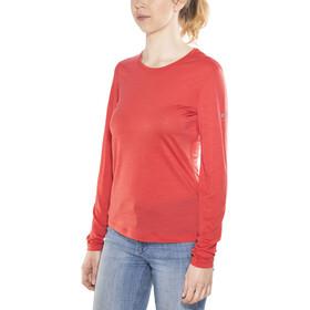 super.natural Base LS 140 Ondergoed bovenlijf Dames rood